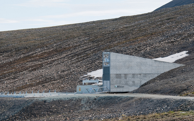 Svalbard Noruega Global Seed Vault cofre global de sementes