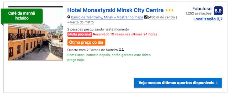 Motel Monastyrski Minsk City Centre 2