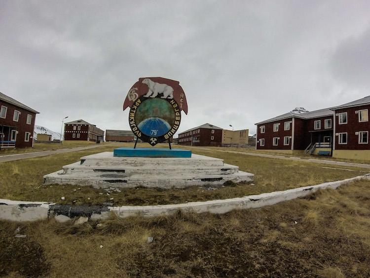 Centro abandonado de Pyramiden Svalbard