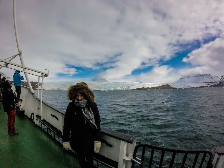 boat trip in Svalbard 3