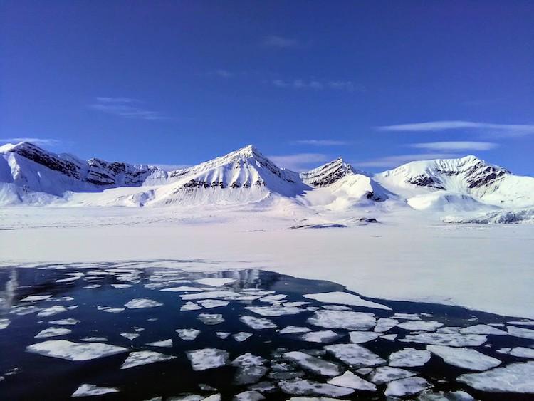 Geleira em Svalbard 2