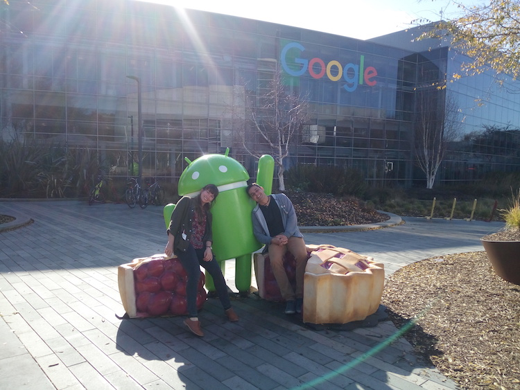 Android Google Office Mountain View