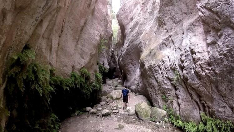 Akamas gorge cyprus hike