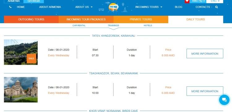 Armenia Yerevan tour company One Way Tour
