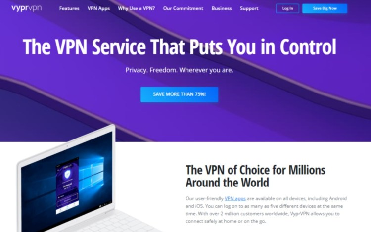 vyprvpn streaming