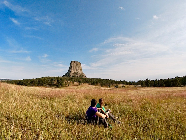 Devil's Tower Wyoming