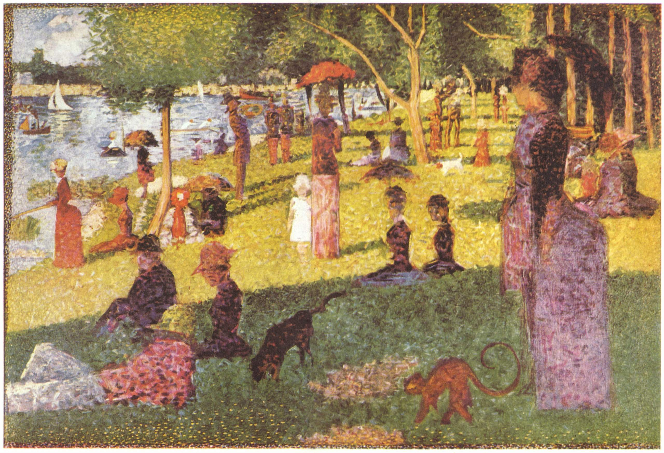 Georges Pierre Seurat Oil Painting Reproductions
