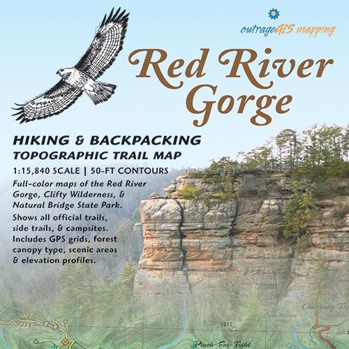 Red River Gorge Backpacking Map