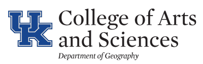 Department of Geography, University of Kentucky