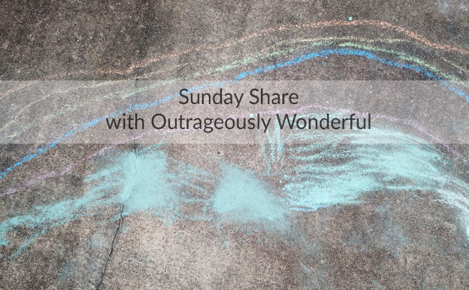 Happy Sunday, dear friends! I hope you have had a wonderful weekend and are ready for the week ahead! This week's Sunday Share has some nostalgia, reality TV, whimsy and a lot of love.