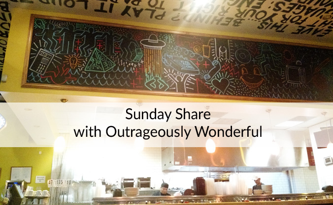 Sunday Share with Outrageously Wonderful