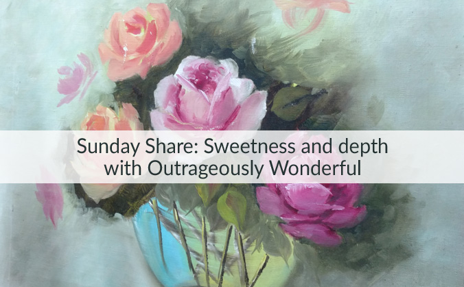 Y'all, I'm ready for some sweetness and some depth. How about you? This week's Sunday Share provides both and includes some of my favorite posts from the past few weeks. I'd love for you to check out what's been making me happy and for you to tell me what has been bringing a smile to your face. Let's share! http://wp.me/p77lss-8G Featuring posts from: @melisalw #MiraclesintheMundane #TheArtofSimple @pocketfulofjoules @thesorrygirlsdiy @craftjana @maybeillshowertoday @candacepayne