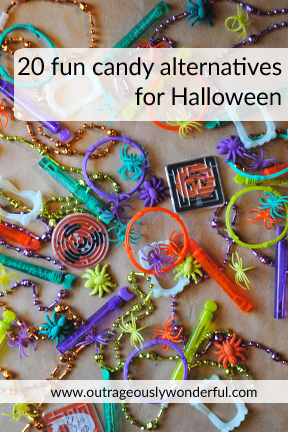 20 fun candy alternatives for Halloween with Outrageously Wonderful