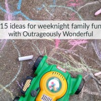 15 ideas for weeknight family fun