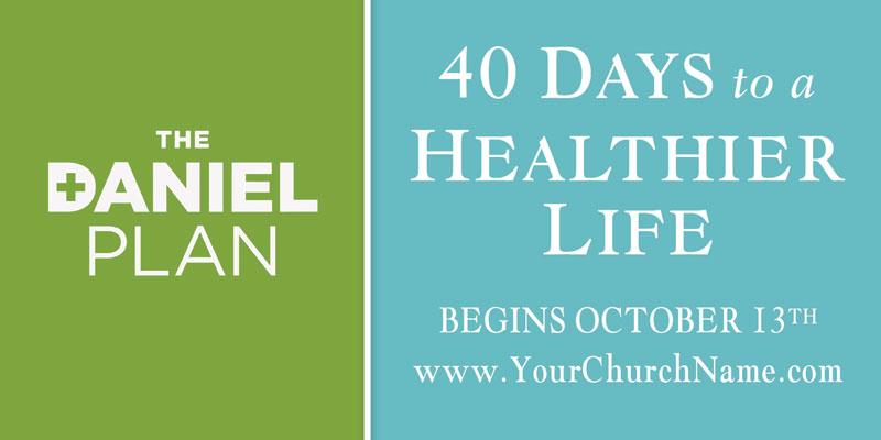 Daniel Plan Banner Church Banners Outreach Marketing