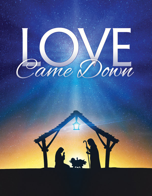 Love Came Down InviteCard Church Invitations Outreach