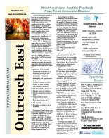 Outreach East Fall 2014 Newsletter