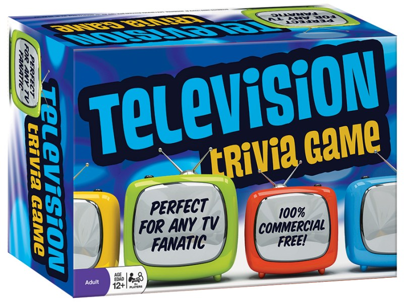 Television Trivia Game   Outset Media Games Television Trivia Game   tabletop game   Outset Media