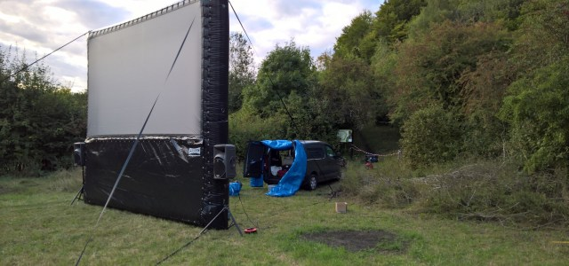 Outside screen Hire Essex