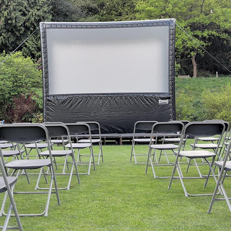 Outdoor airscreen hire