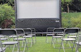 Outdoor airscreen hire