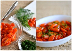 Tomato Salad with Dill