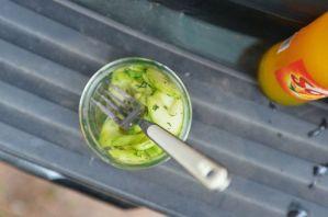 Cucumber Salad, Tailgate