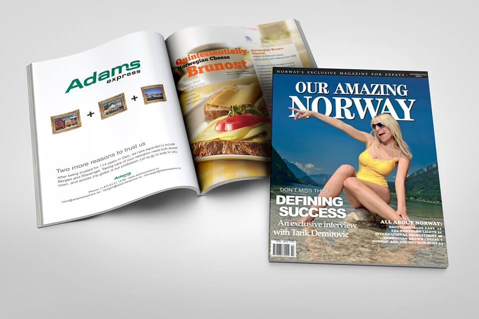 Our Amazing Norway Brunost Article with Cover