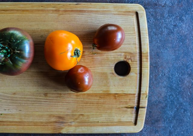Heirloom Tomatoes on Board