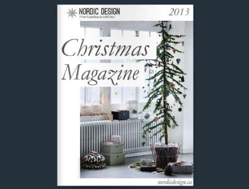 Nordic Design Christmas Magazine 2013 Cover