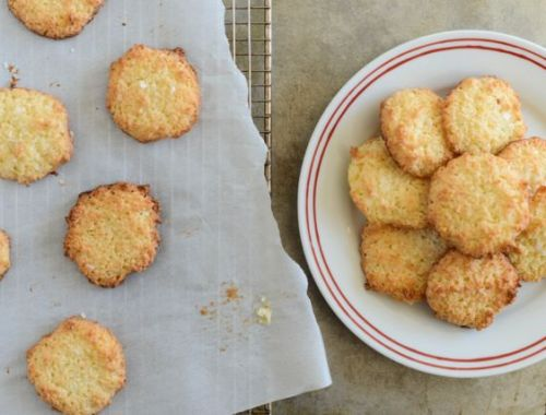 Scandinavian Coconut Cookies