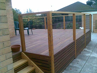 A Brisbane timber deck is a thing of beauty