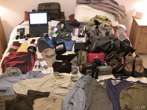 Basho's packing