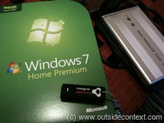 Things needed to install Windows 7