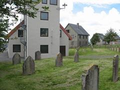 The mock graveyard