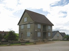 A mock house