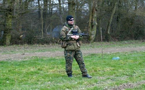 DA field commander Trip