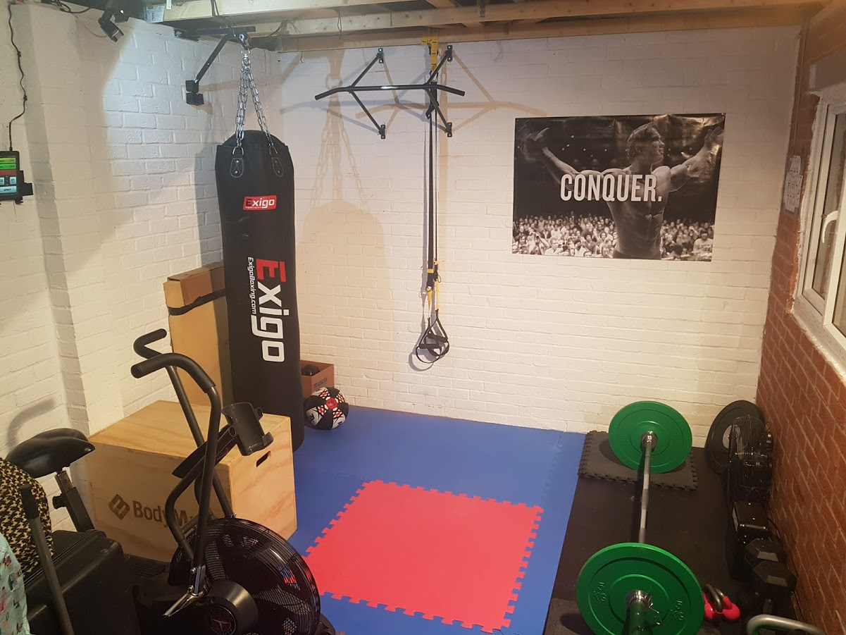 Life goals converting the garage to a gym u outside context