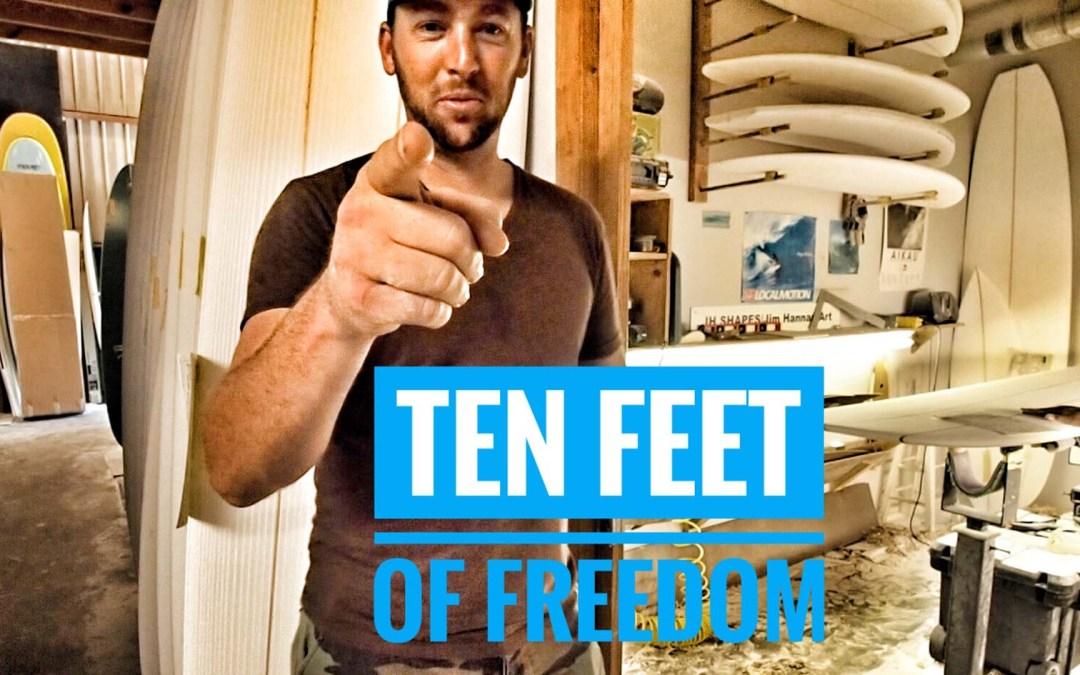 Ten Feet of Freedom