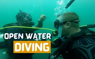 Crazy Adventure in Open Waters! Scuba CERTIFIED