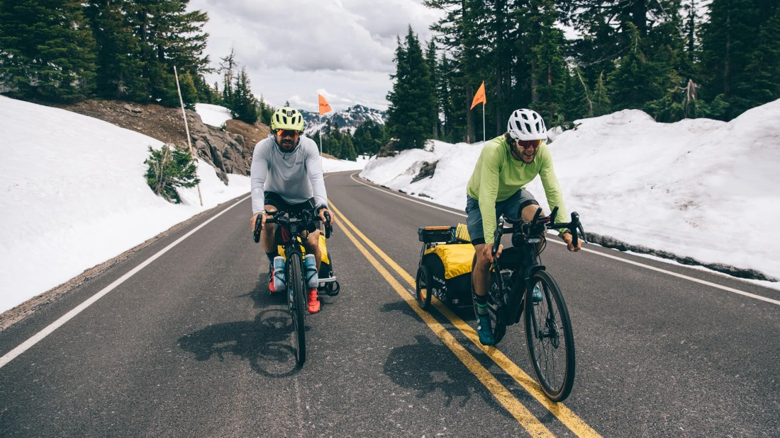 A Human-Powered Tour of the PNW Volcanoes