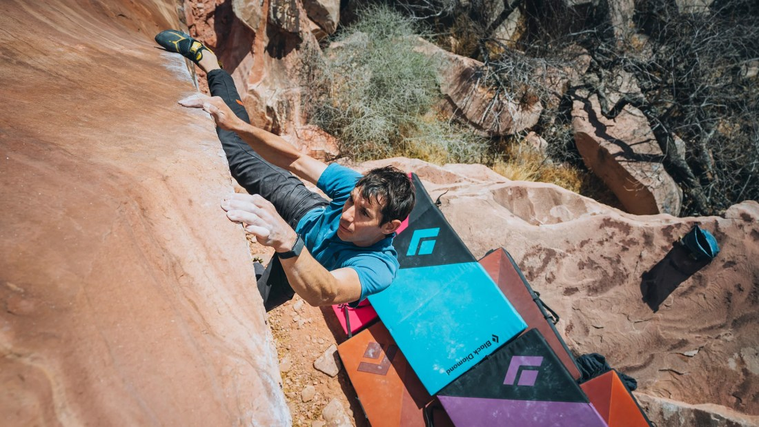 Alex Honnold Is Challenged by a Small Feat