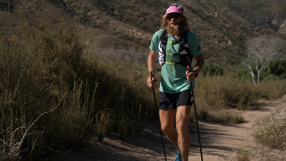 Timothy Olson (Probably) Just Nabbed the FKT on the PCT