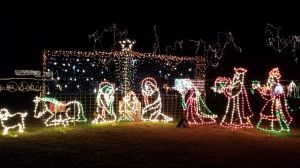 Christmas Lights In Cleburne, TX