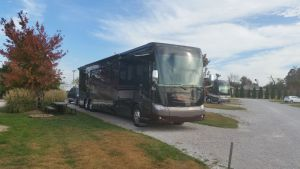 Our Site At Cave Country RV Park In Cave City, Kentucky