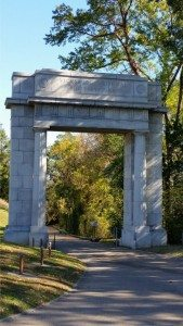 Entrance To National Military Park