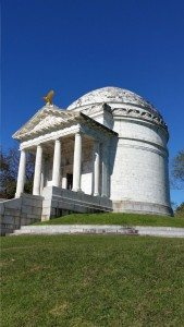 Marble Structure Commemorating Over 36,000 Soldiers From Illinois
