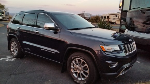 """Our """"new to us"""" 2014 Jeep"""