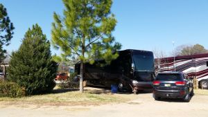 Our Site At North Texas Jellystone RV Resort
