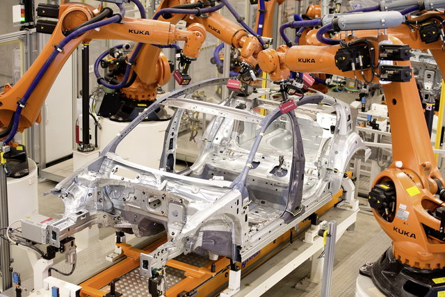 fabbrica robot